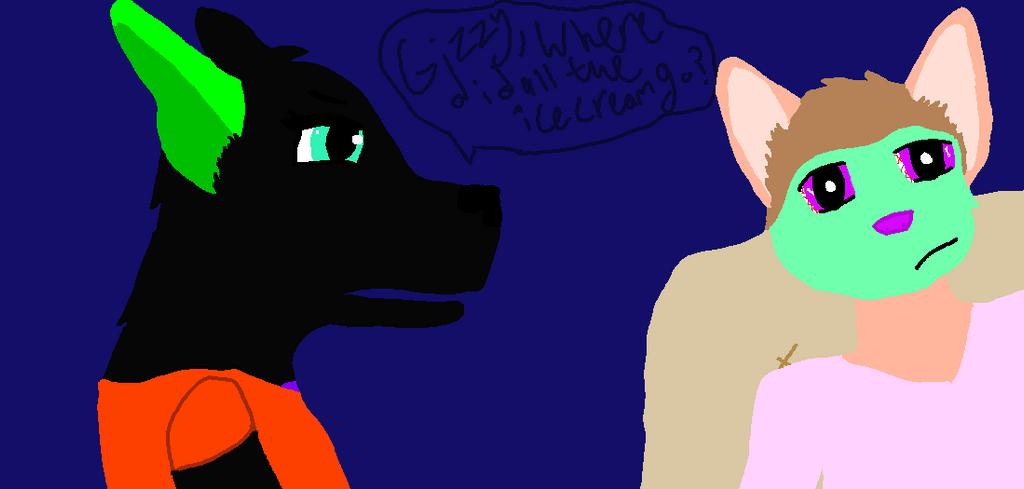 Saz, Gizzy, and Icecrem by biggywoot