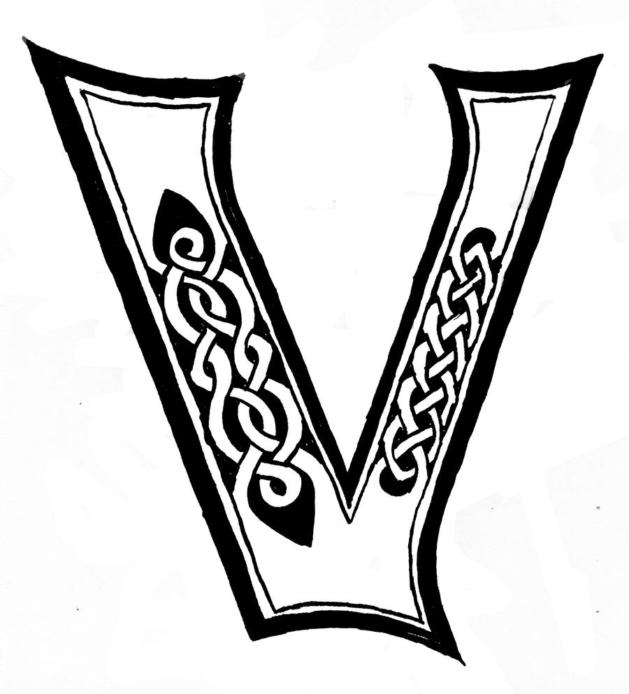Celtic 'V' by IBtheFiery on DeviantArt