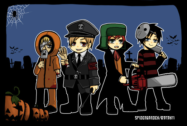 SP:Halloween by spidergarden666
