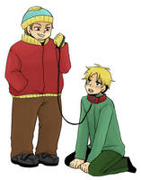 SP:Eric and Butters by spidergarden666