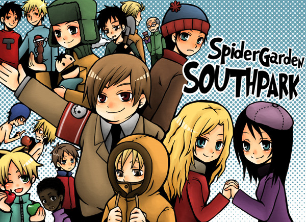 south park by spidergarden666