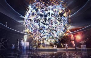 Earth 1.0 Space Museum - Desktopography 2011