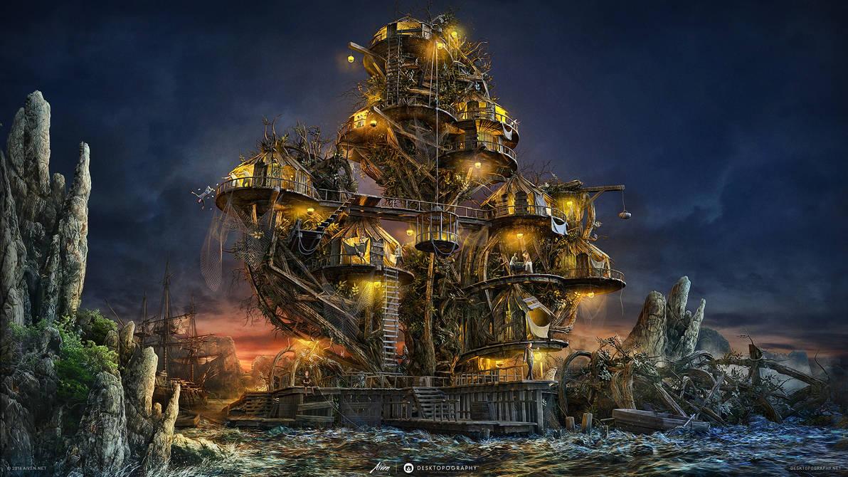 Pirates Tree Island