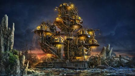 Pirates Tree Island by aiiven