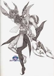 The reaper.... by VergilSharky