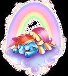 Sleepy fillies
