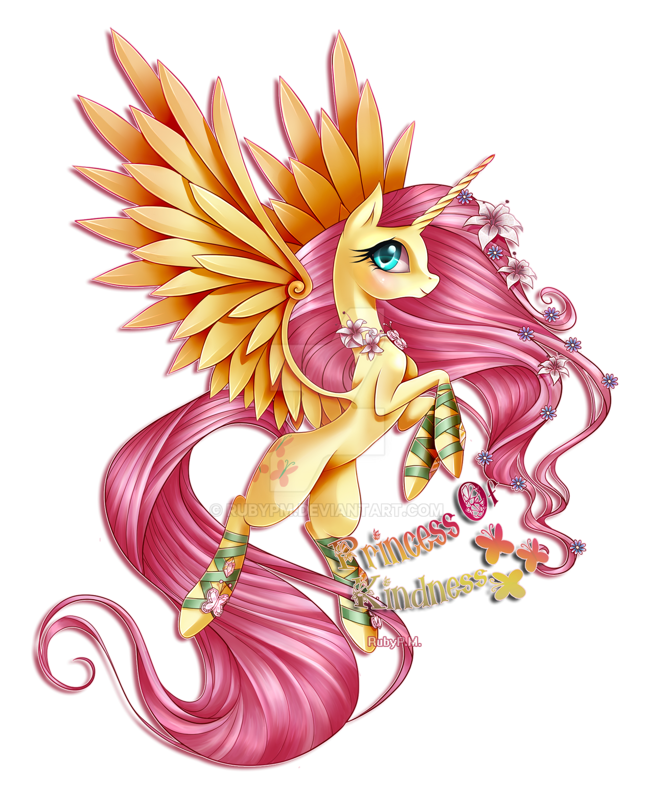 Princess Of Kindness by RubyPM