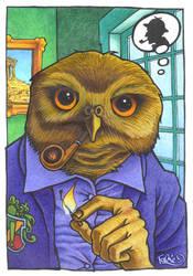 -Humanimal - Owl- by Mentalrabie