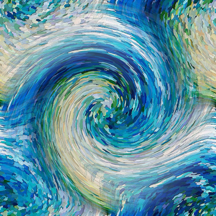 Wave to Van Gogh by DavidLeeManlove