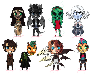 Spoopy Adopts: 2 OPENED LOWERED by sariasong64