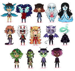 Monster adopts - 3 OPENED by sariasong64
