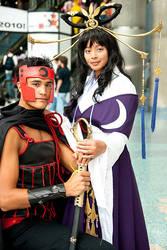Kurogane and Tomoyo