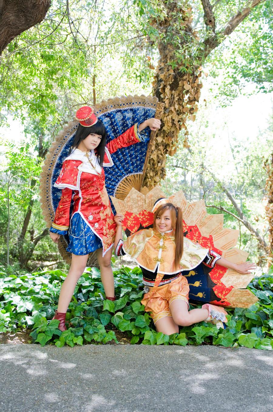 The Qiao Sisters by StrawberyNeko