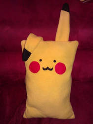 Cuddly pikachu pillow for sale!