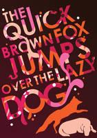 The Quick Brown Fox by MarieCummins