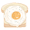 F2U Pixel bread by Alyssdream