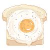 F2U Pixel bread by Alyssdream