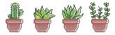 F2U Pixel plants