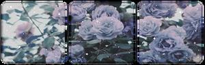 Purple rose divider