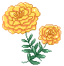 f2u Marigolds deco by Alyssdream