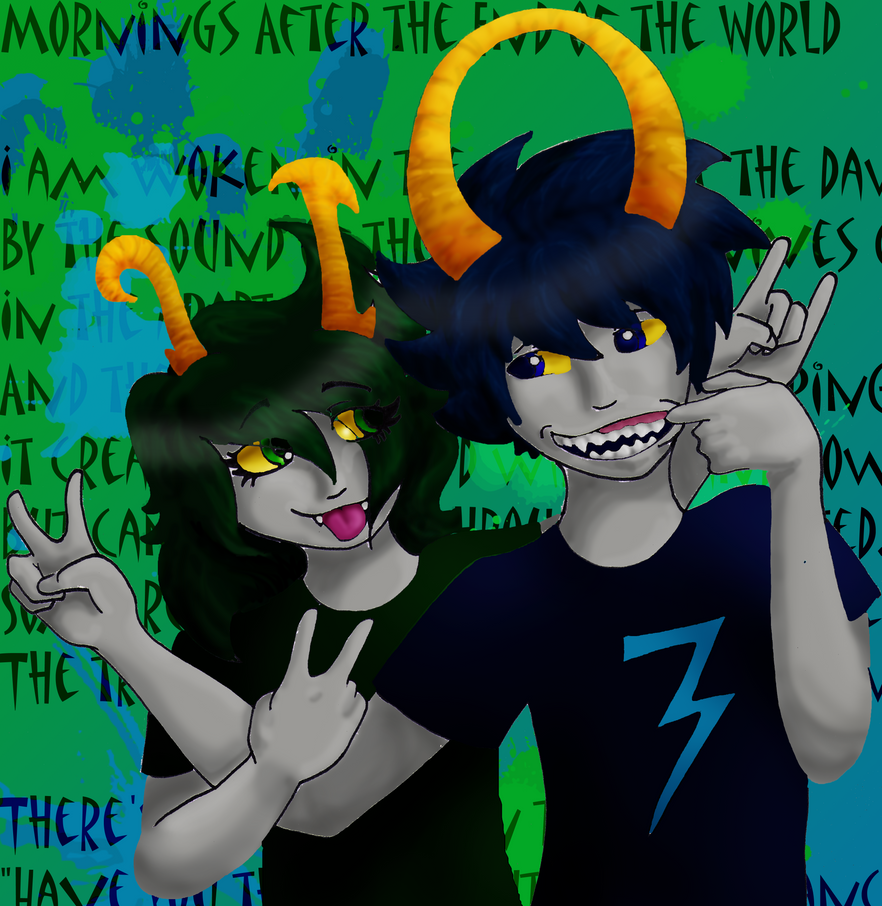 Aseris and Rai: Colored by Fortheheckofit1