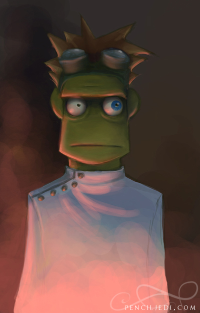 Dr Horrible the Muppet by fractal-inversion