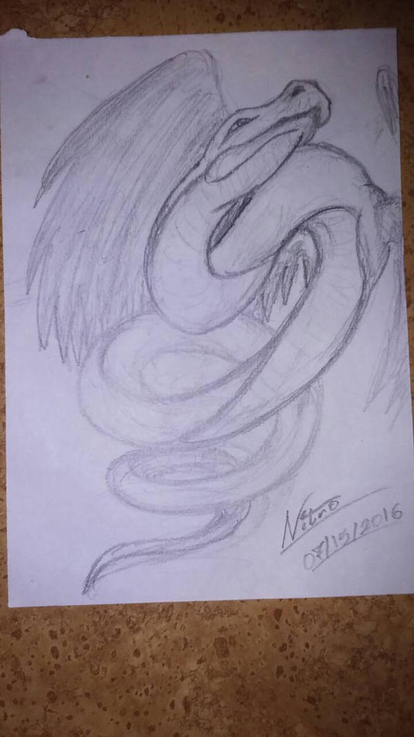 Quetzalcoatl by DarkDragonknight7
