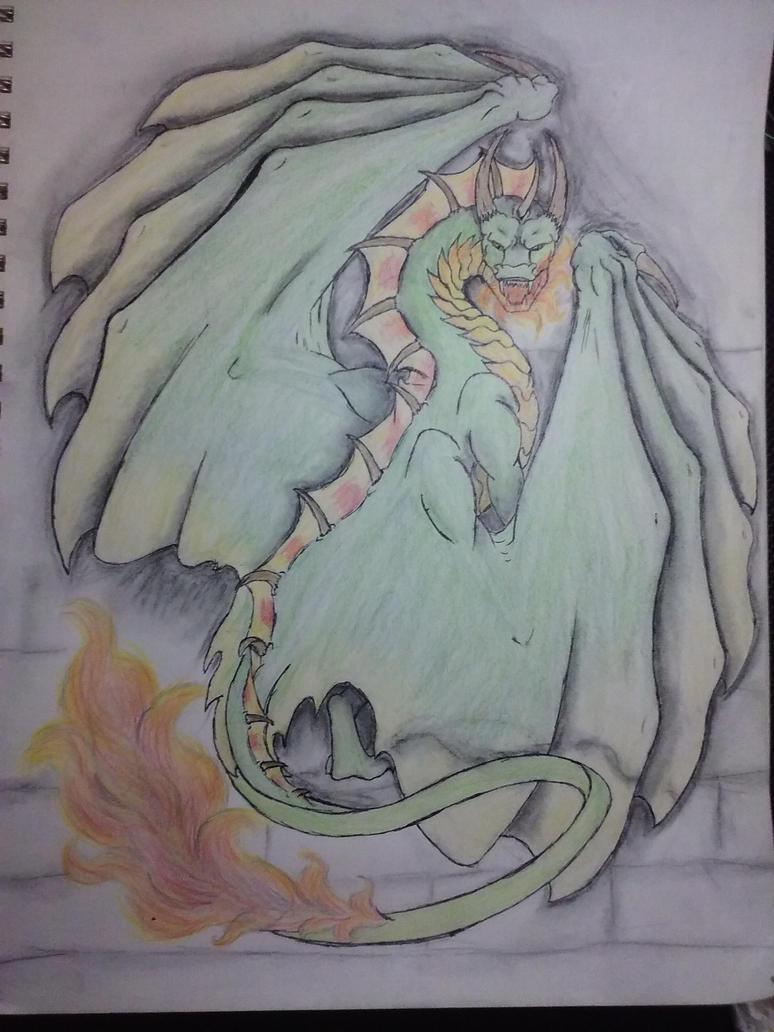 Joey's Dragon by DarkDragonknight7