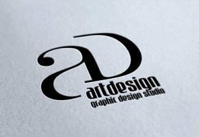 ARTDESIGN logo  / my logo by davabl