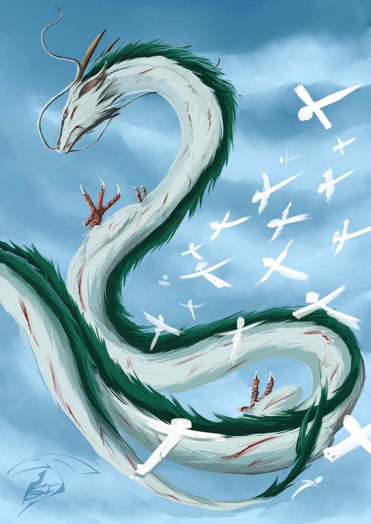 Haku ( dragon) by Super-Furet on DeviantArt