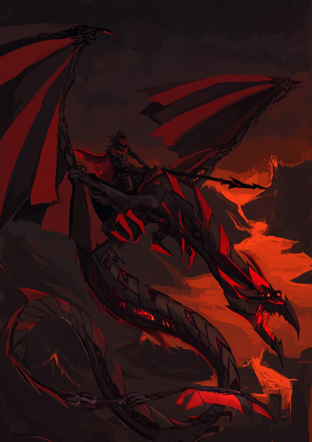 Dragon Rider by Super-Furet