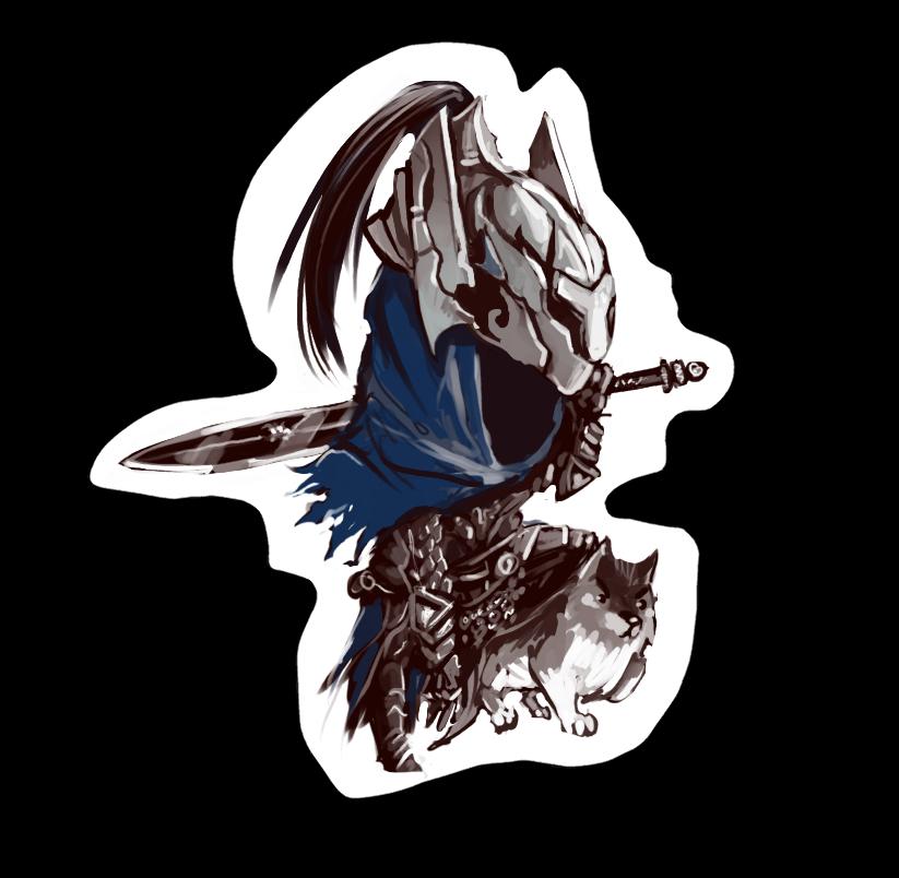 Artorias the abysswalker by Super-Furet