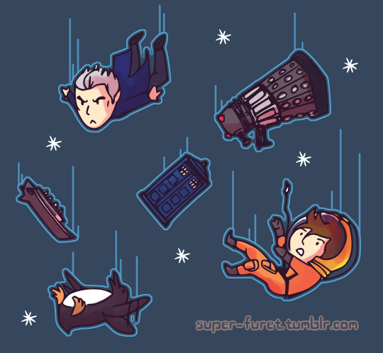 Doctor Who pattern by Super-Furet