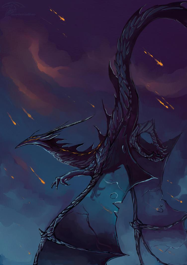 Outcast Odyssey contest : Dragon by Super-Furet