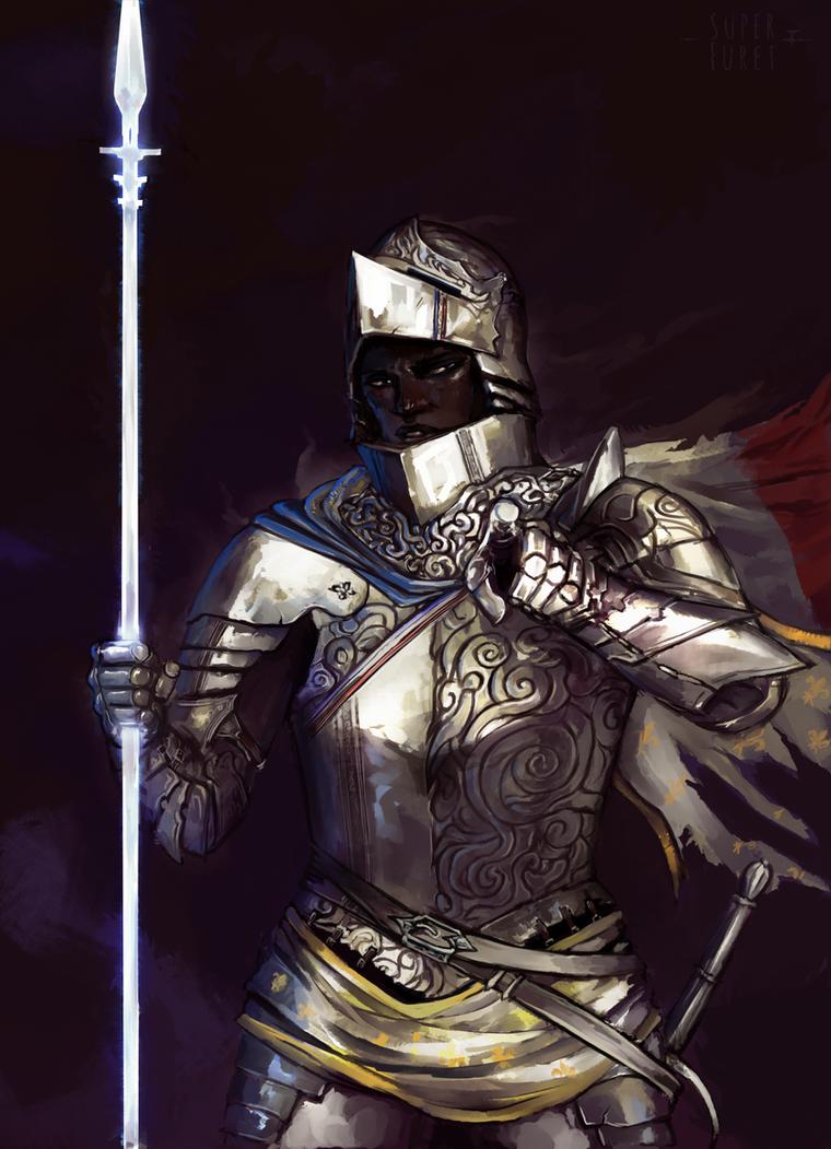 Joan of Arc by Super-Furet