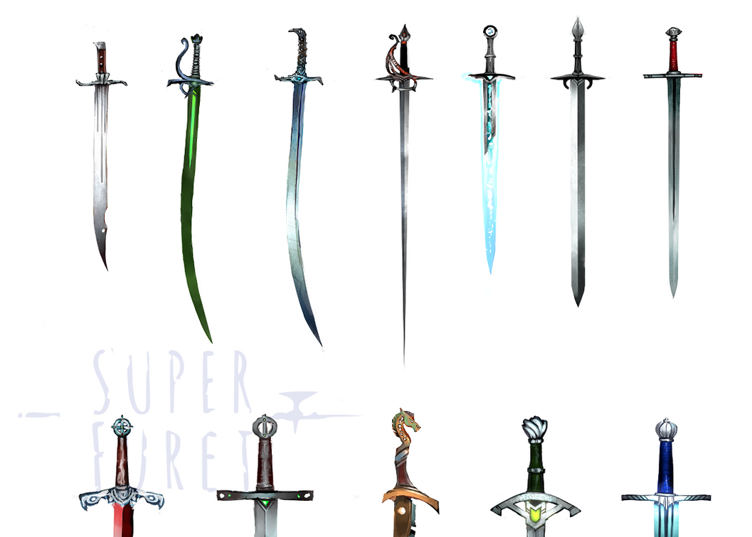 fantasy sword designs by Super-Furet on DeviantArt