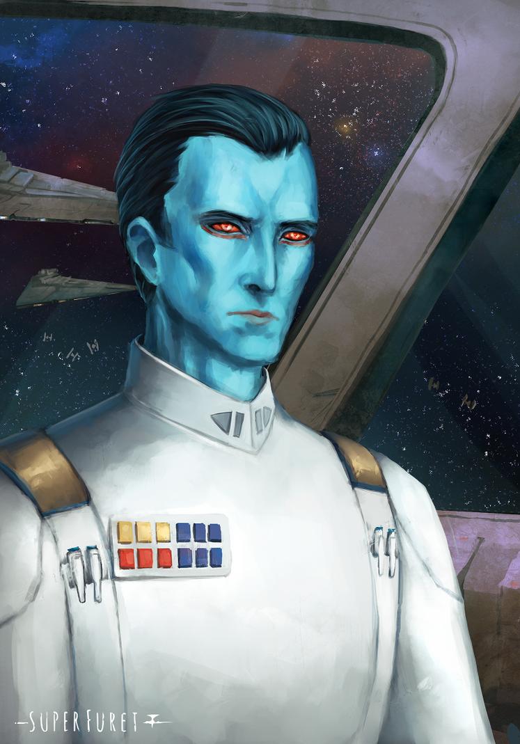 Grand Admiral Thrawn by Super-Furet