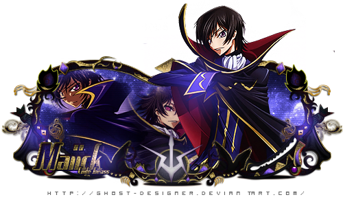 Sign Modelada - Code geass by Ghost-Designer