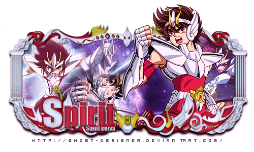 Sign Modelada - Saint Seiya by Ghost-Designer