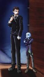 Villain + Sidekick (The Master | OC) [Doctor Who] by TardisGhost