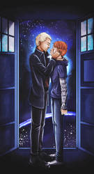 Let me feel time - Redraw [Doctor Who] Master / OC