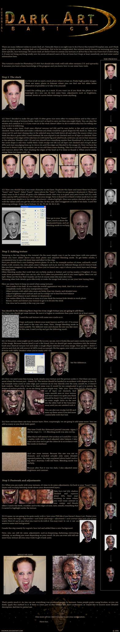 Dark Art basics - Tutorial by Dvemor