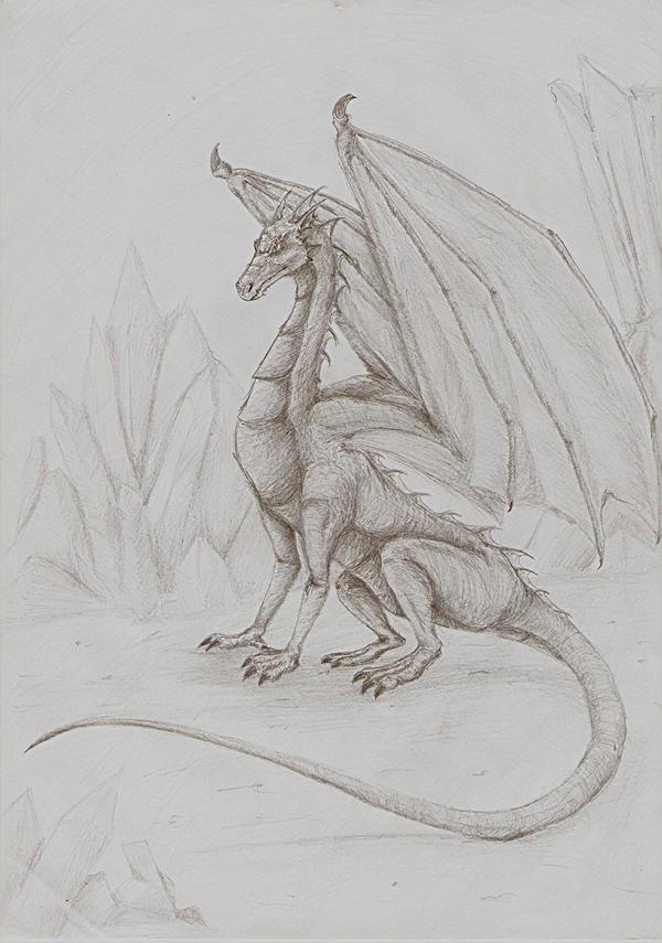 Dragon by Deorwyn