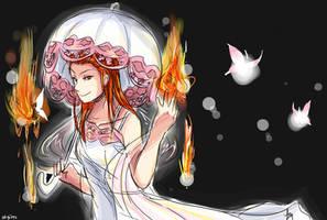 SHE'S ON FIIIRRRREEE by Amaranth-Pink