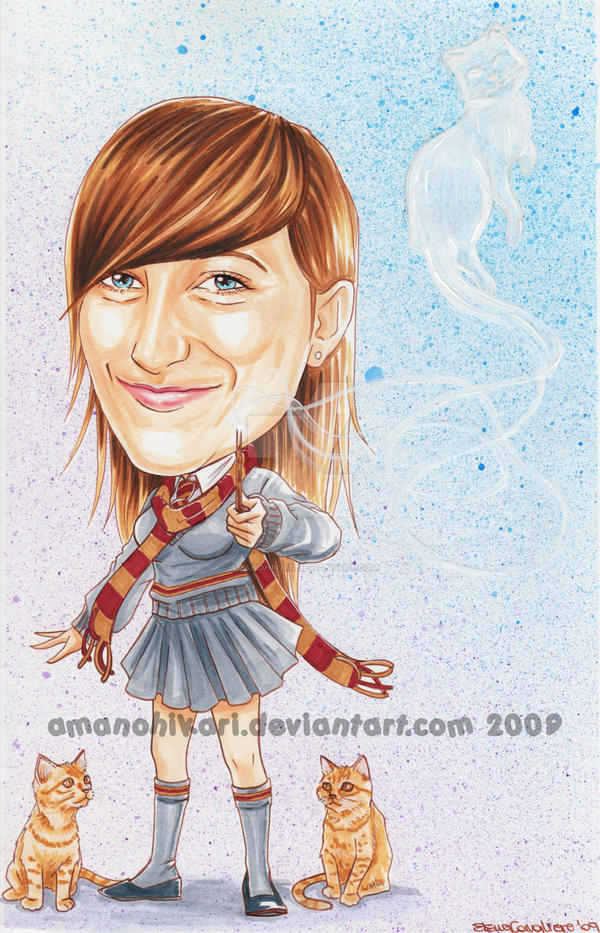 friend as Griffindor on copic by AmanoHikari