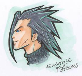 Zack Crisis Core by AmanoHikari