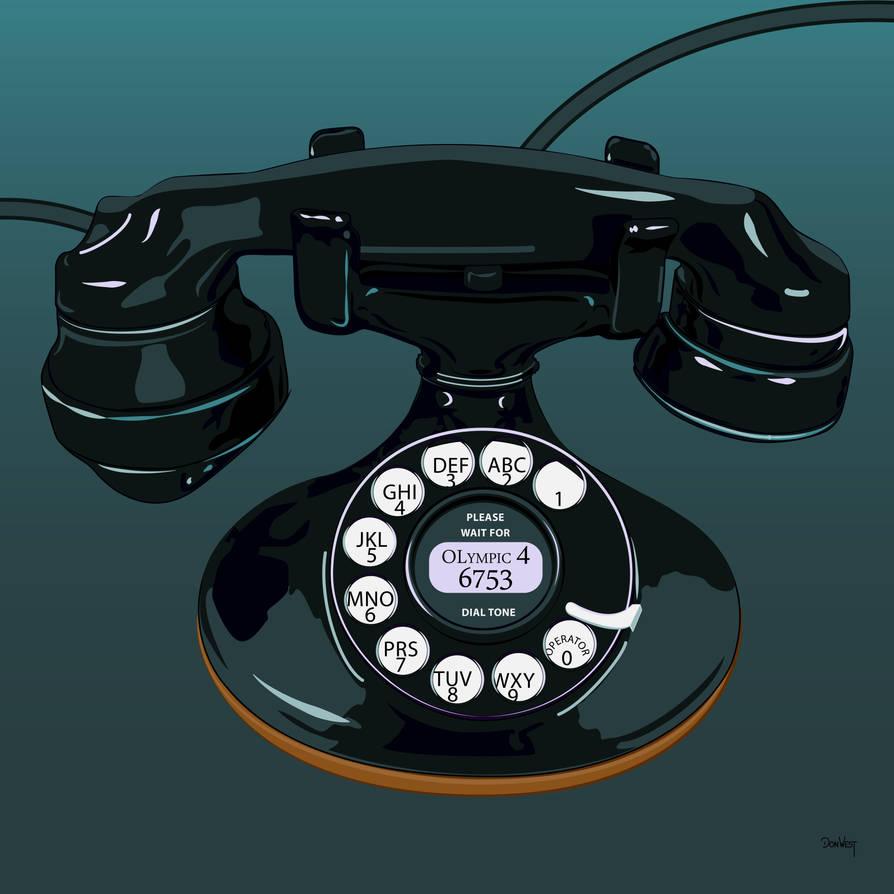Telephone by CapscesDigitalInk