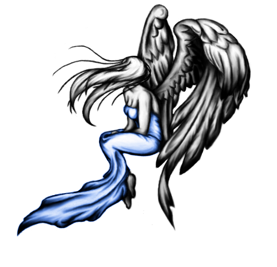 Angel Tattoo Design By Dickies45 On Deviantart