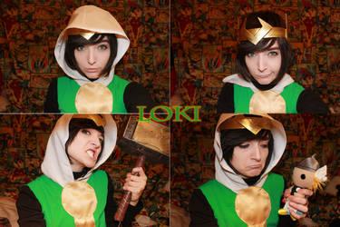 WIP: Journey Into Mystery Loki by SugarBunnyCosplay