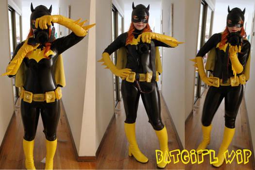 Batgirl WIP Almost Done